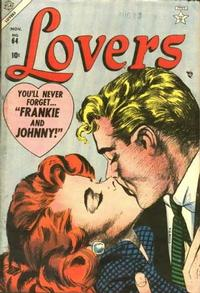 Cover Thumbnail for Lovers (Marvel, 1949 series) #64
