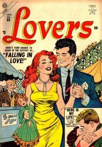 Cover Thumbnail for Lovers (Marvel, 1949 series) #65