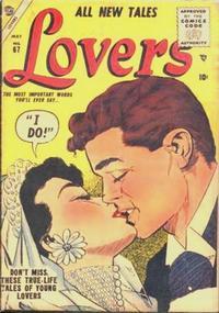 Cover Thumbnail for Lovers (Marvel, 1949 series) #67