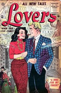 Cover Thumbnail for Lovers (Marvel, 1949 series) #68