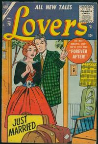 Cover Thumbnail for Lovers (Marvel, 1949 series) #70