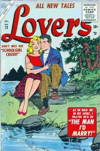 Cover Thumbnail for Lovers (Marvel, 1949 series) #73