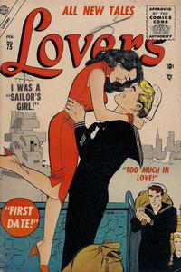 Cover Thumbnail for Lovers (Marvel, 1949 series) #75