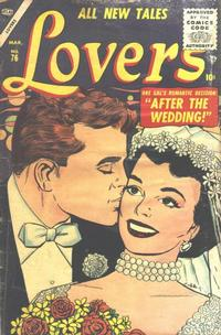 Cover Thumbnail for Lovers (Marvel, 1949 series) #76