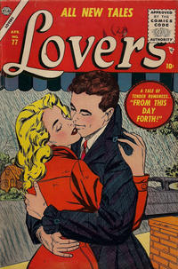 Cover Thumbnail for Lovers (Marvel, 1949 series) #77