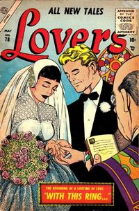 Cover Thumbnail for Lovers (Marvel, 1949 series) #78