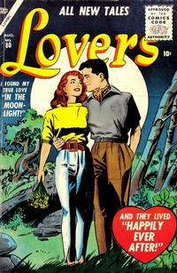 Cover Thumbnail for Lovers (Marvel, 1949 series) #80
