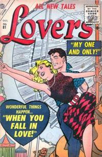 Cover Thumbnail for Lovers (Marvel, 1949 series) #81