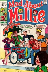 Cover Thumbnail for Mad About Millie (Marvel, 1969 series) #5