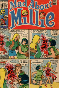 Cover Thumbnail for Mad About Millie (Marvel, 1969 series) #16