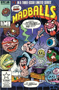 Cover for Madballs (Marvel, 1986 series) #1