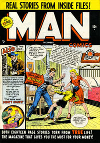 Cover Thumbnail for Man Comics (Marvel, 1949 series) #1