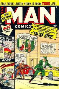 Cover Thumbnail for Man Comics (Marvel, 1949 series) #4