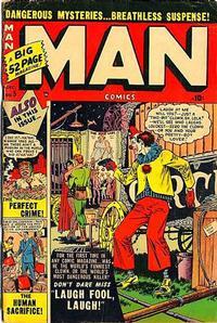 Cover Thumbnail for Man Comics (Marvel, 1949 series) #5