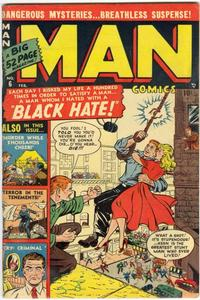 Cover Thumbnail for Man Comics (Marvel, 1949 series) #6
