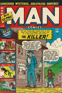 Cover Thumbnail for Man Comics (Marvel, 1949 series) #7