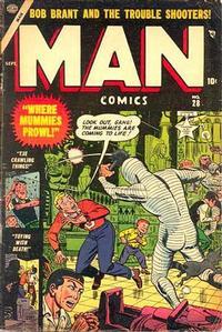 Cover Thumbnail for Man Comics (Marvel, 1949 series) #28
