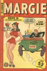 Cover Thumbnail for Margie Comics (Marvel, 1946 series) #49
