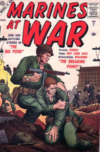 Cover Thumbnail for Marines at War (Marvel, 1957 series) #7