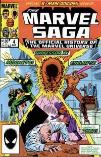 Cover Thumbnail for The Marvel Saga the Official History of the Marvel Universe (Marvel, 1985 series) #4 [Direct Edition]