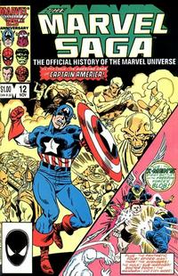 Cover Thumbnail for The Marvel Saga the Official History of the Marvel Universe (Marvel, 1985 series) #12 [Direct Edition]