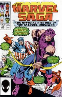 Cover Thumbnail for The Marvel Saga the Official History of the Marvel Universe (Marvel, 1985 series) #19