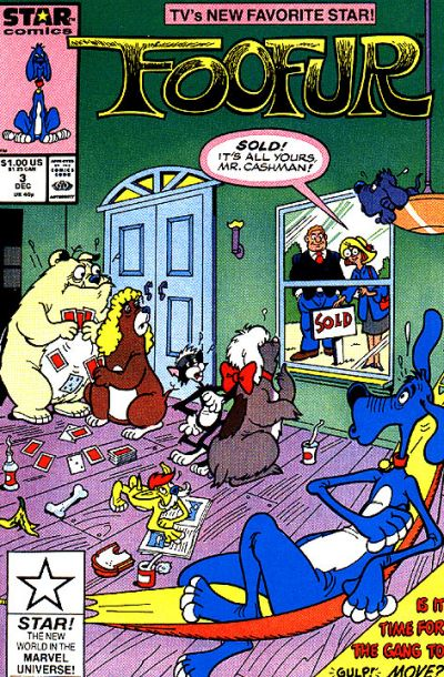 Cover for Foofur (Marvel, 1987 series) #3