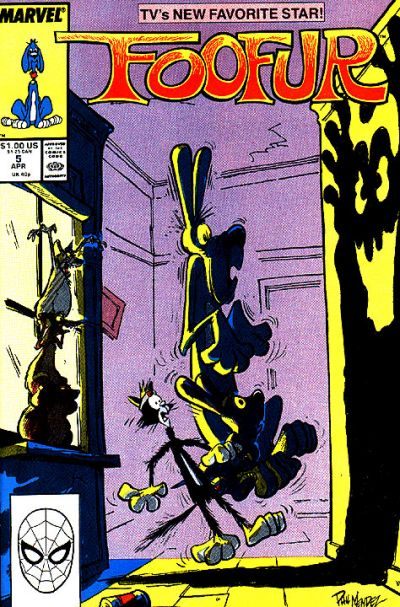 Cover for Foofur (Marvel, 1987 series) #5