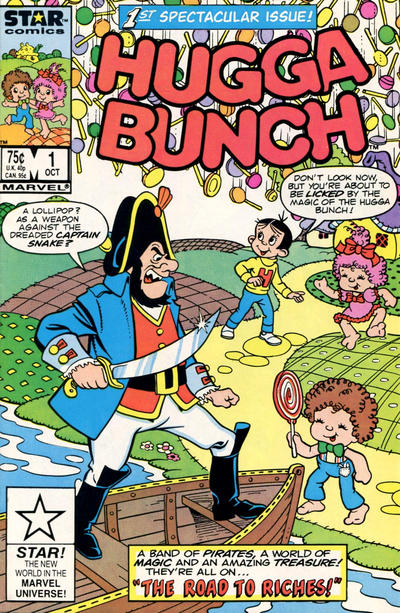 Cover for Hugga Bunch (Marvel, 1986 series) #1