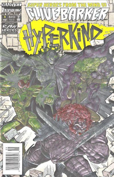 Cover for Hyperkind (Marvel, 1993 series) #1