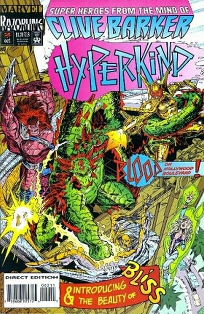 Cover for Hyperkind (Marvel, 1993 series) #2