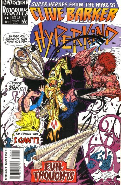 Cover for Hyperkind (Marvel, 1993 series) #3