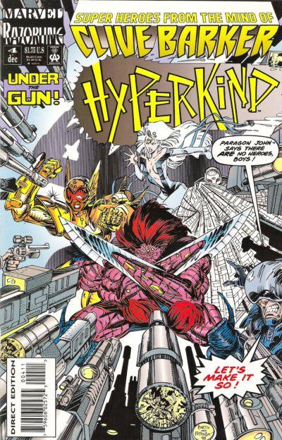 Cover for Hyperkind (Marvel, 1993 series) #4