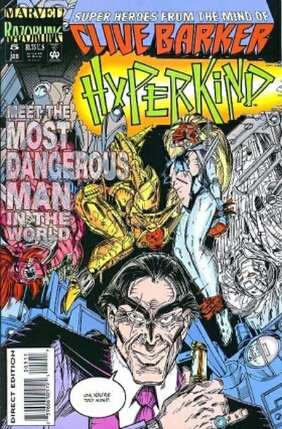 Cover for Hyperkind (Marvel, 1993 series) #5