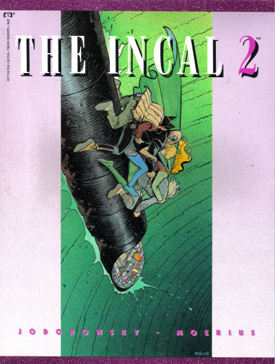 Cover for The Incal (Marvel, 1988 series) #2