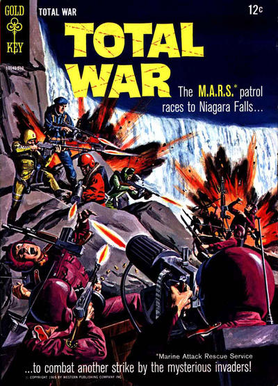 Cover for Total War (Western, 1965 series) #2