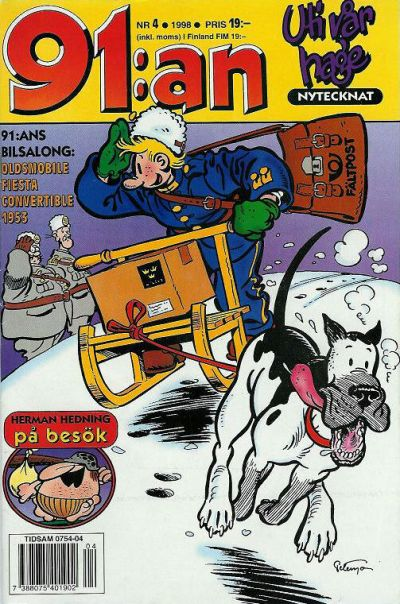 Cover for 91:an (Egmont, 1997 series) #4/1998