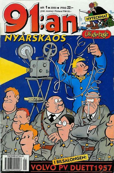 Cover for 91:an (Egmont, 1997 series) #1/2000