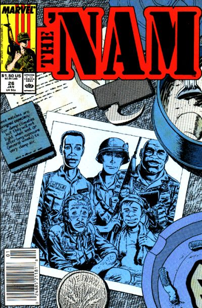 Cover for The 'Nam (Marvel, 1986 series) #26
