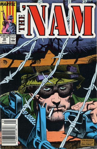 Cover for The 'Nam (Marvel, 1986 series) #30