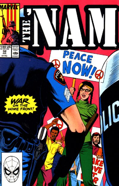 Cover for The 'Nam (Marvel, 1986 series) #32