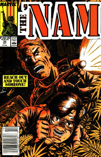 Cover for The 'Nam (Marvel, 1986 series) #35