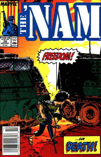 Cover for The 'Nam (Marvel, 1986 series) #39