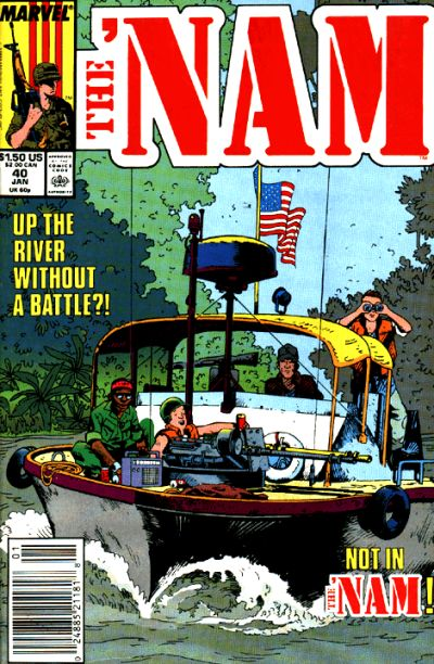 Cover for The 'Nam (Marvel, 1986 series) #40