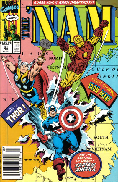 Cover for The 'Nam (Marvel, 1986 series) #41