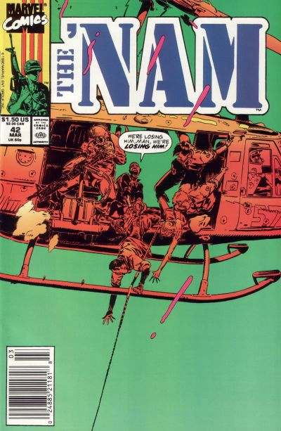 Cover for The 'Nam (Marvel, 1986 series) #42