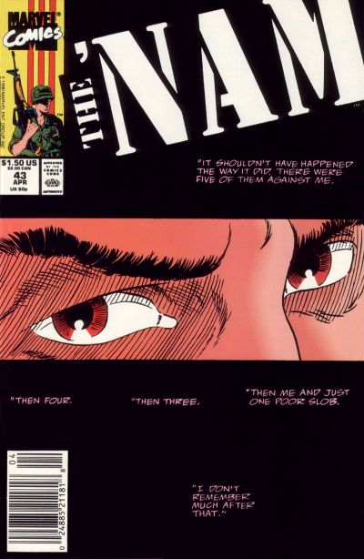 Cover for The 'Nam (Marvel, 1986 series) #43