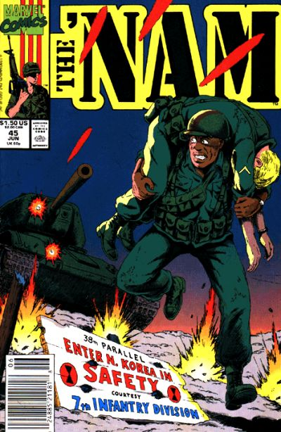Cover for The 'Nam (Marvel, 1986 series) #45
