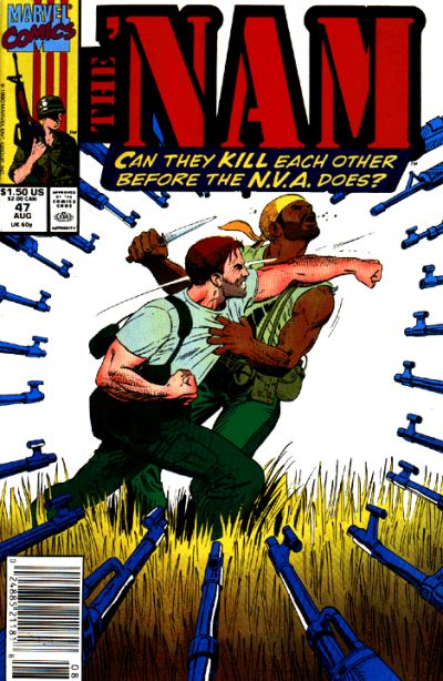 Cover for The 'Nam (Marvel, 1986 series) #47