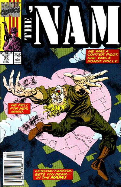 Cover for The 'Nam (Marvel, 1986 series) #50